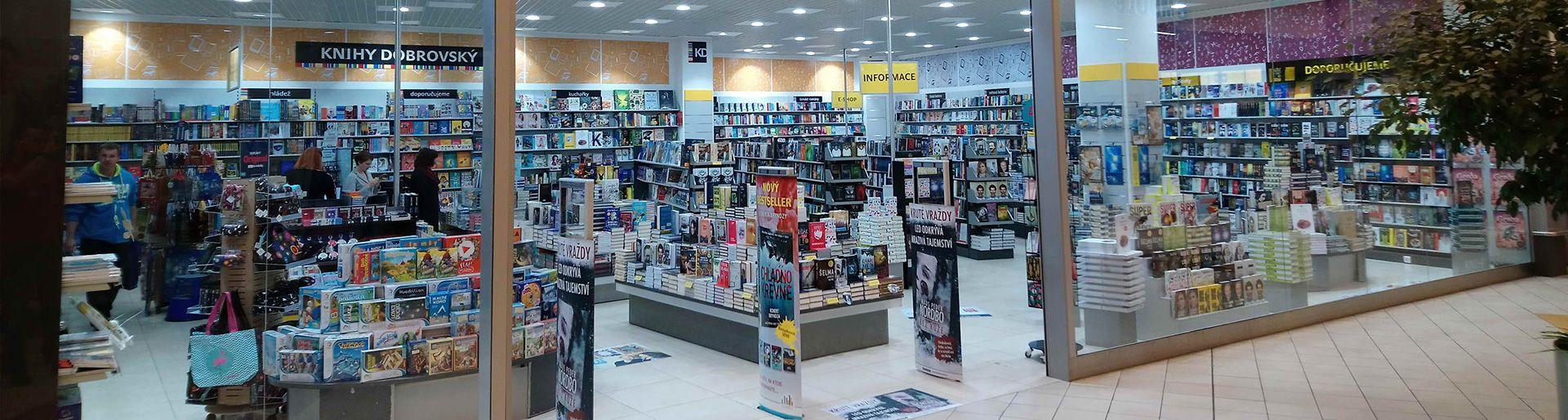 Informační systém pro Knihy Dobrovský